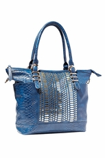 Big Buddha Breve Blue Handbag