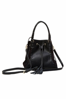 Big Buddha Bristow Black Handbag