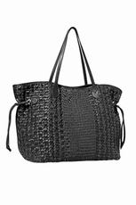 Big Buddha Cabana Black Handbag