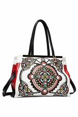 Big Buddha Dahlia Black Handbag