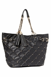 Big Buddha Diana Black Handbag