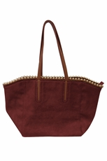 Big Buddha Greeley Merlot Handbag