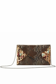 Big Buddha Lavo Bronze Clutch/Handbag