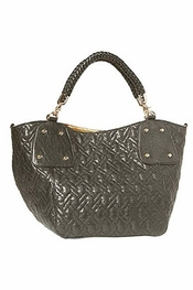 Big Buddha Lyle Gunmetal Handbag