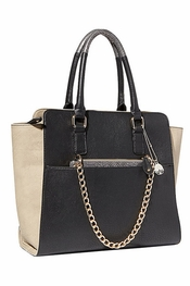 Big Buddha Nala Black Handbag