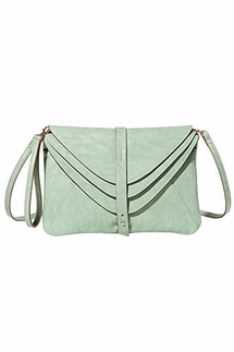 Big Buddha Newport Sage Convertible Crossbody Bag