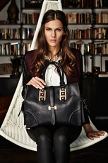Big Buddha Porter Black Handbag