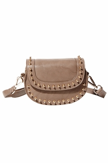 Big Buddha Zola Taupe Crossbody Bag