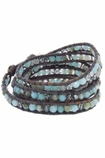 Chan Luu Amazonite Mix Wrap Bracelet