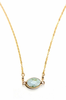Charlene K Green Turquoise Necklace
