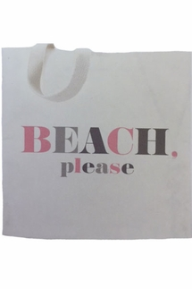Dogeared Beach Please Lil' Tote