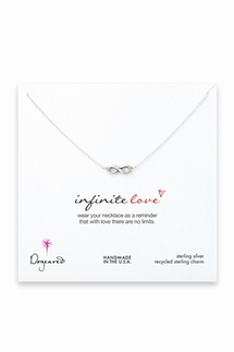 Dogeared Infinite Love Sterling Silver Necklace
