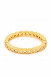 Gorjana Candice Shimmer Gold Ring