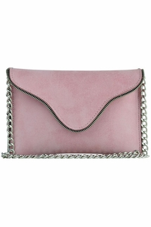 JJ Winters Brooke Rose Leather Crossbody