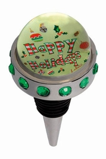Lolita Happy Holidays Bottle Stopper