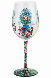 Lolita Snow Globe Wine Glass