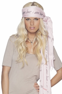 Peace Love World Peace and Love Love struck Scarf
