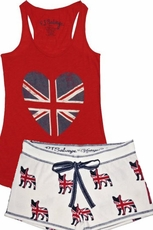 PJ Salvage British Lily Tank and Short Set