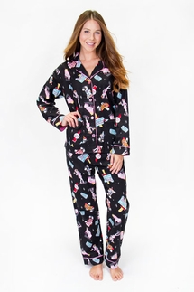PJ Salvage Drive In Flannel Pajama Set