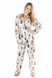 PJ Salvage Frontier Flannel Pajama Set