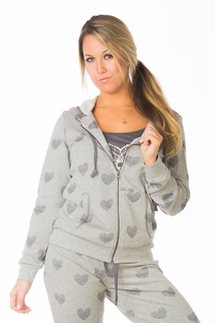 PJ Salvage Heart Hoody