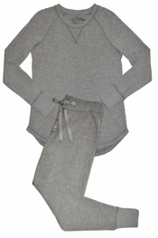PJ Salvage Heather Grey Ski Jammies