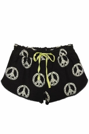 PJ Salvage Henna Peace Short