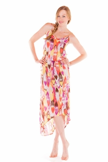 PJ Salvage Ikat Dress