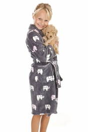 PJ Salvage Kids Elephant Robe
