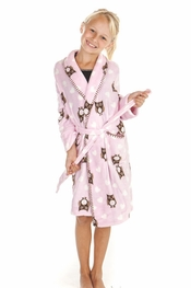 PJ Salvage Kids Owl Robe