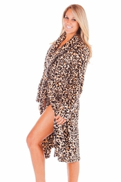 PJ Salvage Leopard Robe