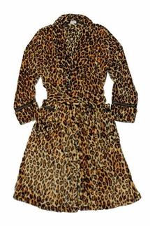 PJ Salvage Leopard Tan Robe