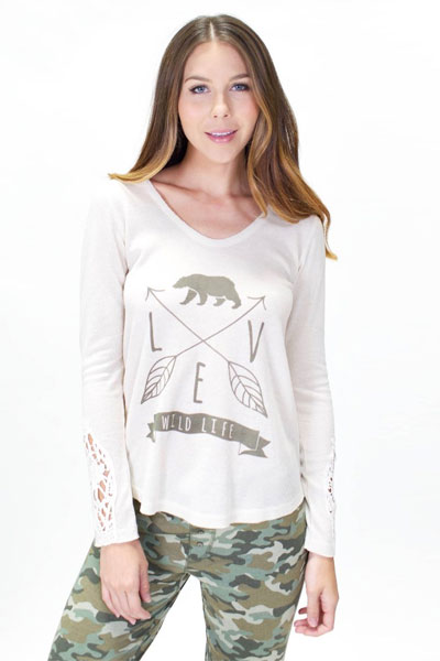PJ Salvage Mission Bound Long Sleeve and Camo Pant Set