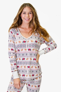 PJ Salvage Mountains Calling Pajama Set