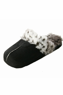 PJ Salvage Pick of the Litter Black Clog Slippers