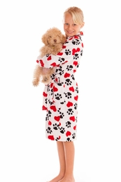 PJ Salvage Puppy Love Robe