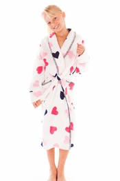 PJ Salvage Queen of Hearts Robe