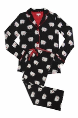 PJ Salvage Sheep Heart Pajama Set