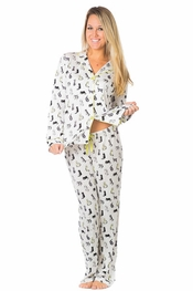 PJ Salvage Shine on Cats Pajama Set