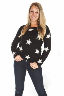 PJ Salvage Stars and Stripes Sweater