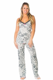 PJ Salvage Sweet Floral Cami and Pant Pajama Set