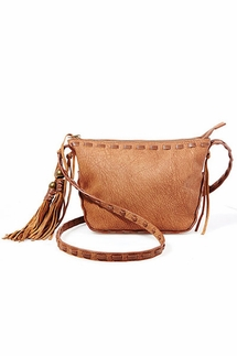 Steven by Steve Madden Camille Tan Crossbody Bag
