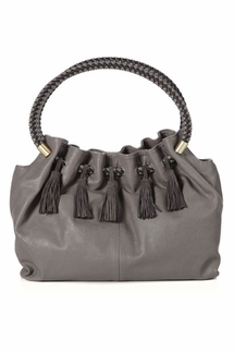 Steven by Steve Madden Verona Charcoal Bag
