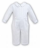 A Boy's Fine Irish Linen Longall Baptism Outfit
