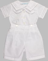 A Boys Christening Outfit Sailor Style Shortall