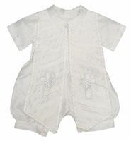 A Boys Formal Shawl Baptism Outfit 3-piece Set