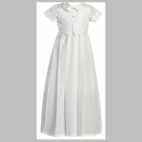 Boys Christening Gown Simply Lawrence