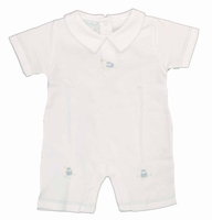 Boys Christening Outfit Romper Baby Knit Lamby 0-3 months