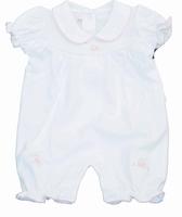 Girls Christening Outfit Romper Baby Knit Lamby
