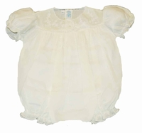 Girls Christening Outfit Baby Vintage Bubble Romper